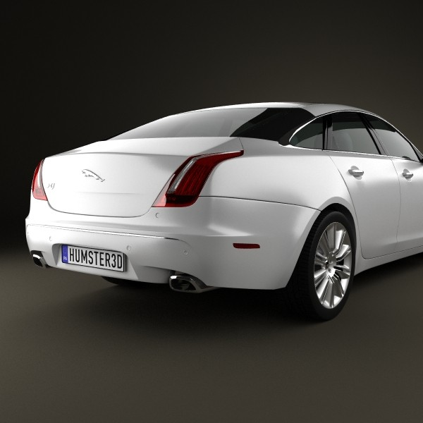 2010 Jaguar Coupe: Jaguar XJ X351 2010 3D Model MAX OBJ 3DS FBX C4D LWO LW