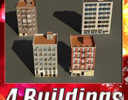 3D asset Building Collection 9-12