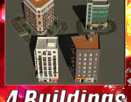 Building Collection 21-24 3D Model