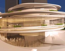 Serra building 3D
