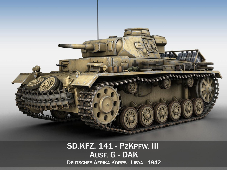 PzKpfw III - Ausf G - DAK - 313