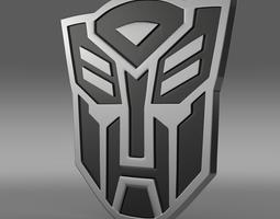 Transformer Logo 3D