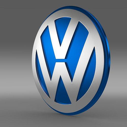 3D Volkswagen Group Logo | CGTrader