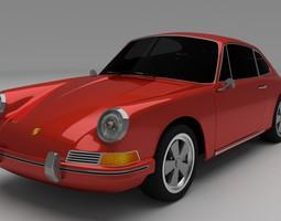 1964 Porsche 911 3D model