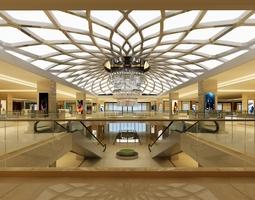 shop mall 3d
