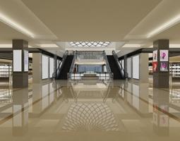 interior 3D model lobby