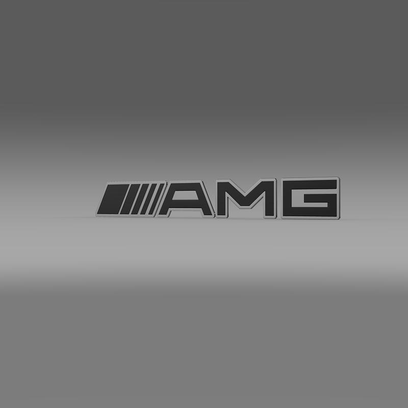 Amg Logo 3d Cgtrader
