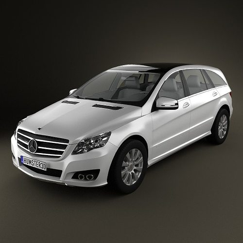 Mercedes benz r class 2011 3d model max obj 3ds fbx c4d for Mercedes benz suv models list