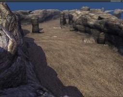 Small Canyon 3D asset
