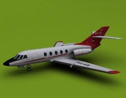 3D Iran Civil Aviation Falcon 20 200