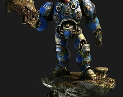 StarCraft soldier 3D