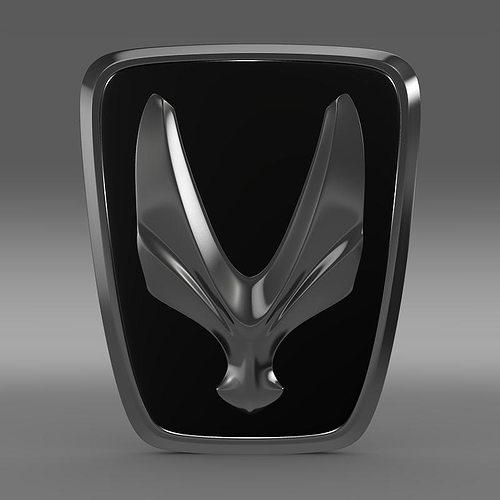 equus logo 3d model max obj mtl 3ds fbx c4d lwo lw lws 1