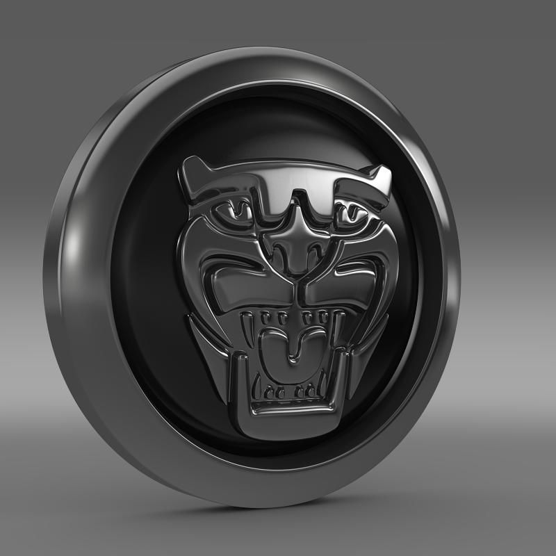 Jaguar New Logo 3d Model Cgtrader
