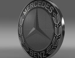 Mercedes-Benz logo 3D model