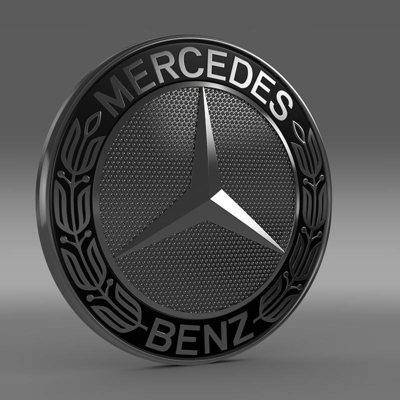 Mercedes Benz Logo 3d Model Cgtrader