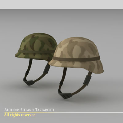 Army helmet | 3D model