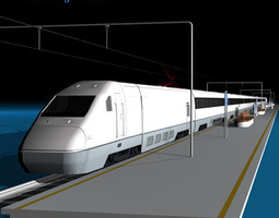 High speed train 3D
