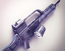 G36 Assault rifle Hi-Res 3D Model