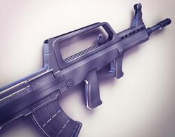 QBZ-95 Assault rifle Hi-Res 3D Model