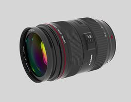 3D Canon EF 24 70 f 2 8 L USM