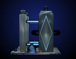Sci-Fi Structure II 3D