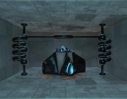 sci-fi structure iv 3d
