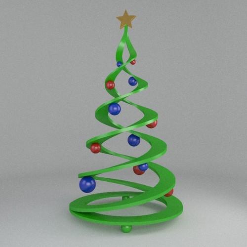 3D Printable Christmas Tree christmas | CGTrader