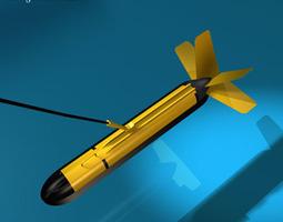 Variable depth sonar 3D model