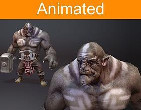 3D model Orc hummer