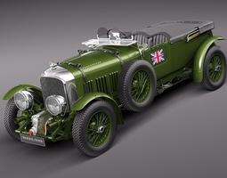 Bentley 4 5 Litre Blower 1929 3D Model