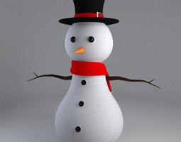 3D Printable Snowman