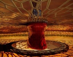 Desert Rose House 3D model