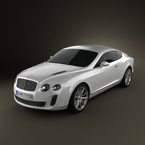 Bentley Sport Coupe Price: 3D Bentley Continental Supersport Coupe
