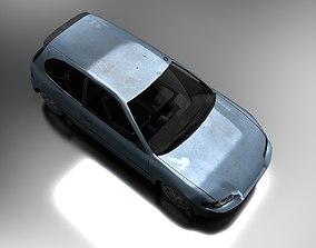 3D asset Hatchback