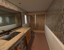 Bathroom 3D model architecturechallenge