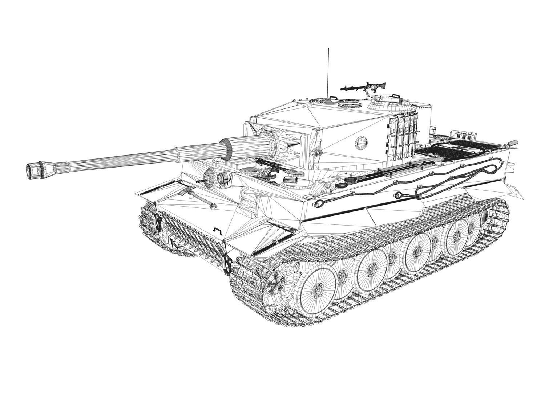panzerkampfwagen vi - tiger