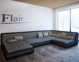 3D model Sofa Flair