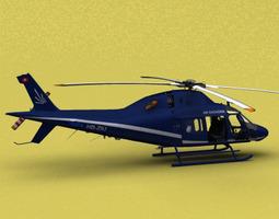 AW-119 Air Engiadina 3D Model