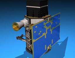 Scientific research satellite 3D