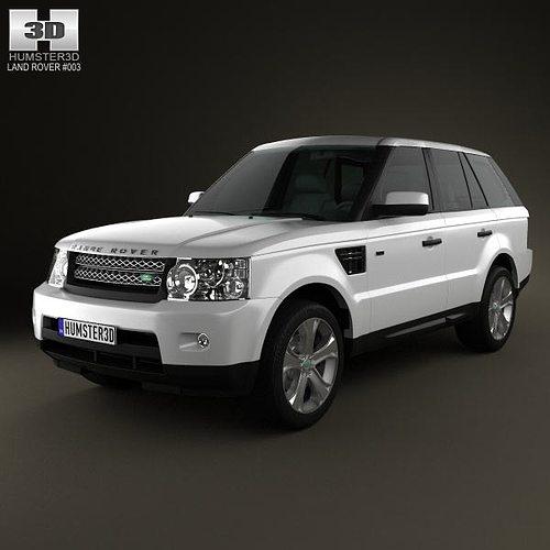 2008 Land Rover Range Rover Sport Interior: 3D Land Rover Range Rover Sport 2011