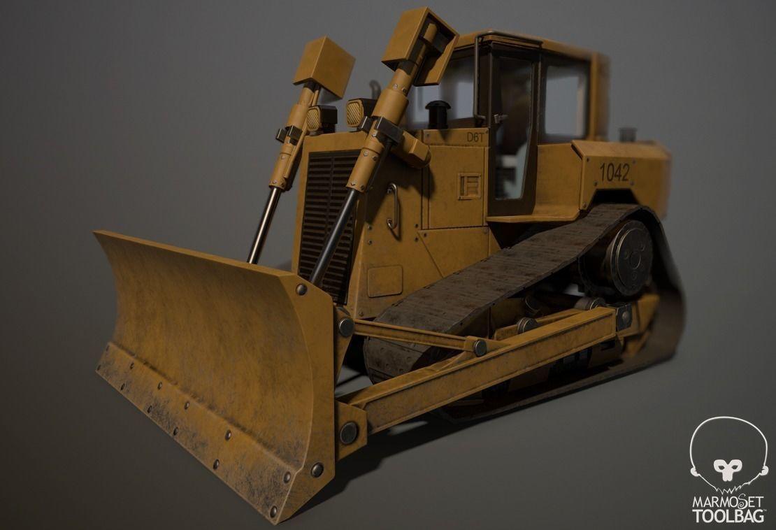 Construction Track Dozer