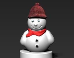 Snowman 2 3D print model