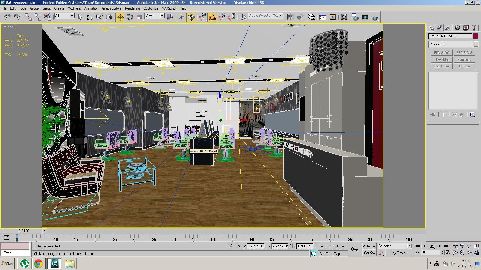 Salon And Spa Management Software Interior Design