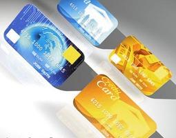 3D Credit cards