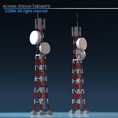 mast phone 3d model obj mtl 3ds dxf 1