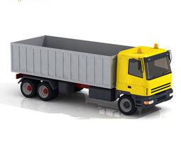 3D model Constructions truck