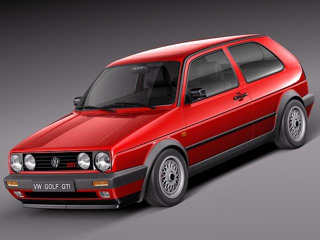 Volkswagen Golf GTI mk2 1983-1992-