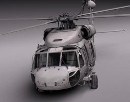 sikorsky uh-60a black hawk 3d model max obj 3ds