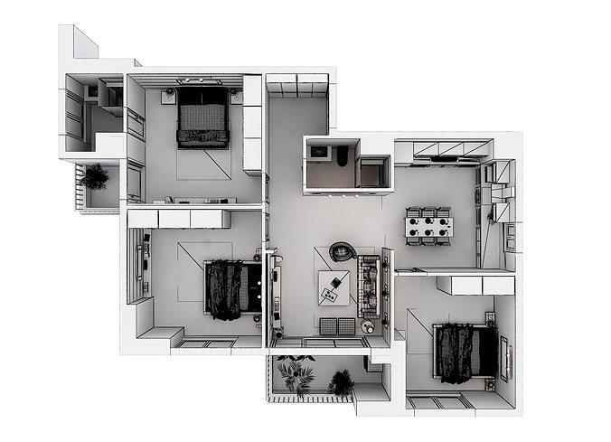 Furnished model home