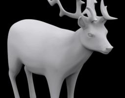 Reindeer 3D print model